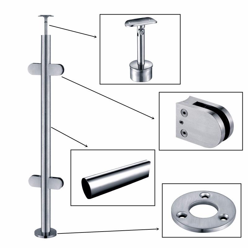 Stainless Steel Handrail Base Plate Manufacturers, Stainless Steel Handrail Base Plate Factory, Supply Stainless Steel Handrail Base Plate