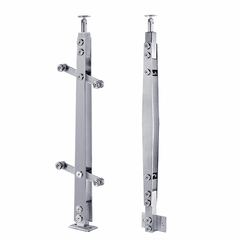 Stainless Steel Glass Balcony Railing Posts Manufacturers, Stainless Steel Glass Balcony Railing Posts Factory, Supply Stainless Steel Glass Balcony Railing Posts