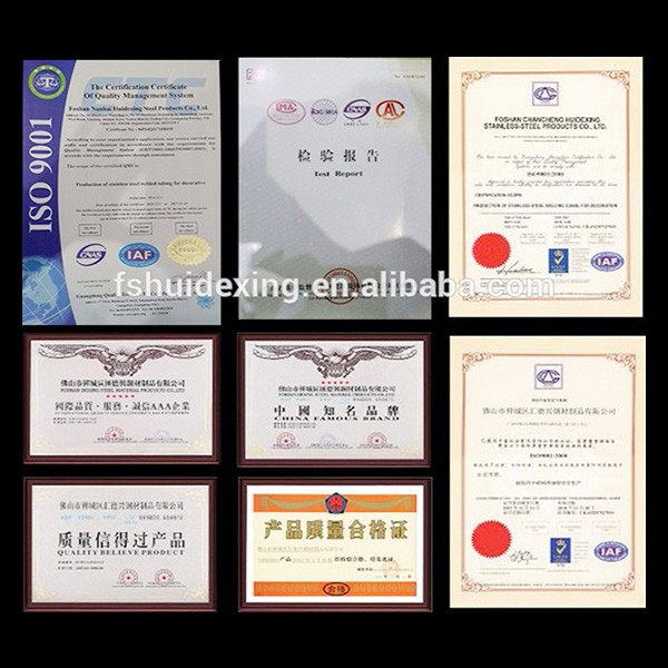 Products certificates and reports