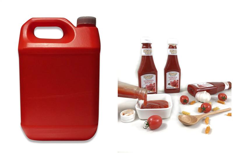 garrafa de plástico de ketchup