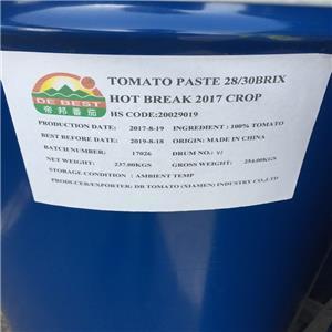 28-30% Pasta de tomate de tambor para rotura en frío 220L