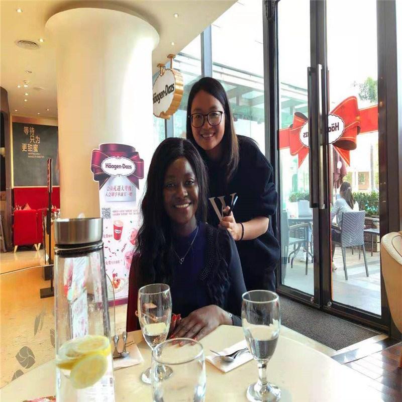 Viagem de visita do cliente à China