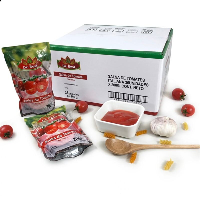 200g Italian and Natural Tomato Sauce Manufacturers, 200g Italian and Natural Tomato Sauce Factory, Supply 200g Italian and Natural Tomato Sauce