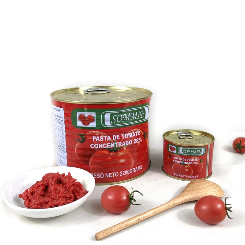 210g Canned Tomato Paste Tomato Sauce Manufacturers, 210g Canned Tomato Paste Tomato Sauce Factory, Supply 210g Canned Tomato Paste Tomato Sauce