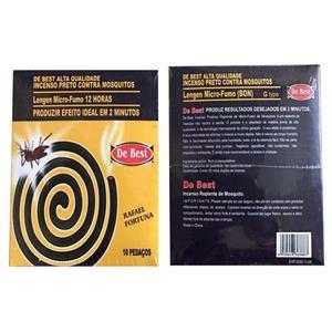 Bobina de incienso repelente de mosquitos negro sin humo