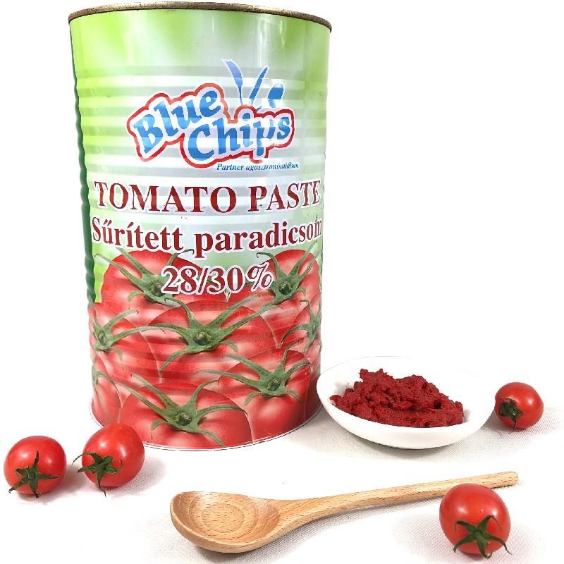 4500g de molho de tomate em pasta de tomate enlatado