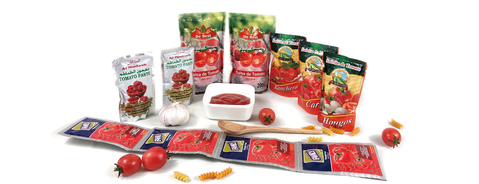 Pasta de tomate para tambor