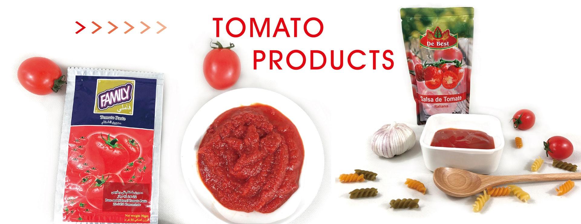 معجون الطماطم الكيس