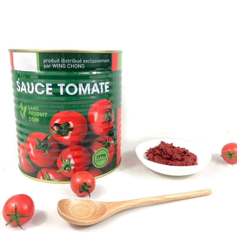3000g Tomate enlatado Colar Tomate Sauce