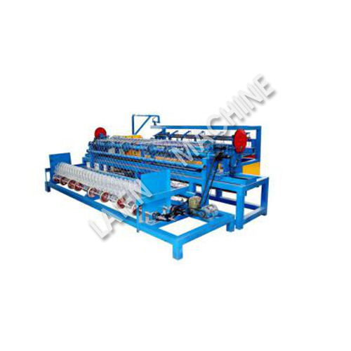 Full Automatic Single Spiral Wire Feeding Chain Link Fence Machine