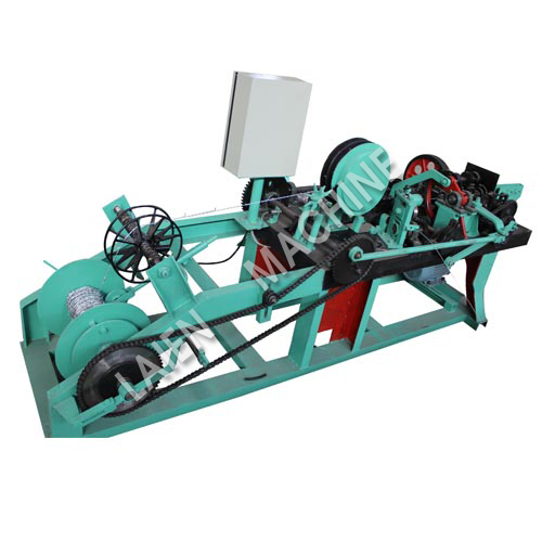 Reverse Double Strands Barbed Wire Machine