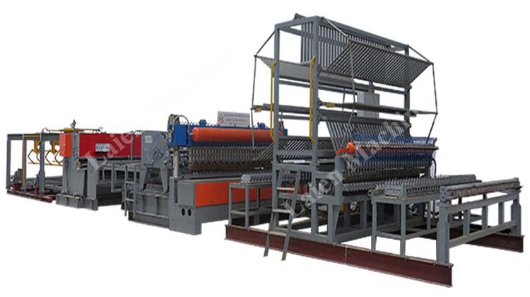 pneumatic welding mesh machine