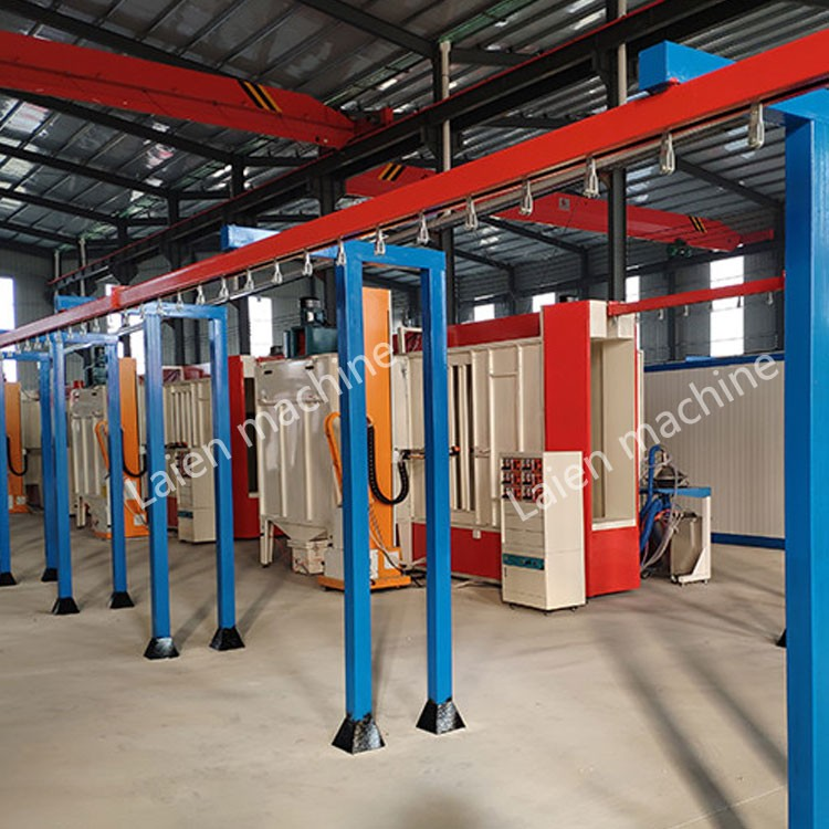 automatic Security door powder coating line
