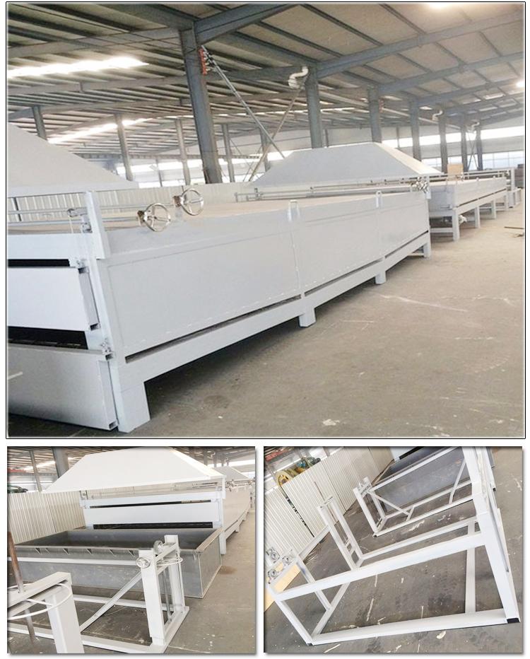 pvc powder coating production line
