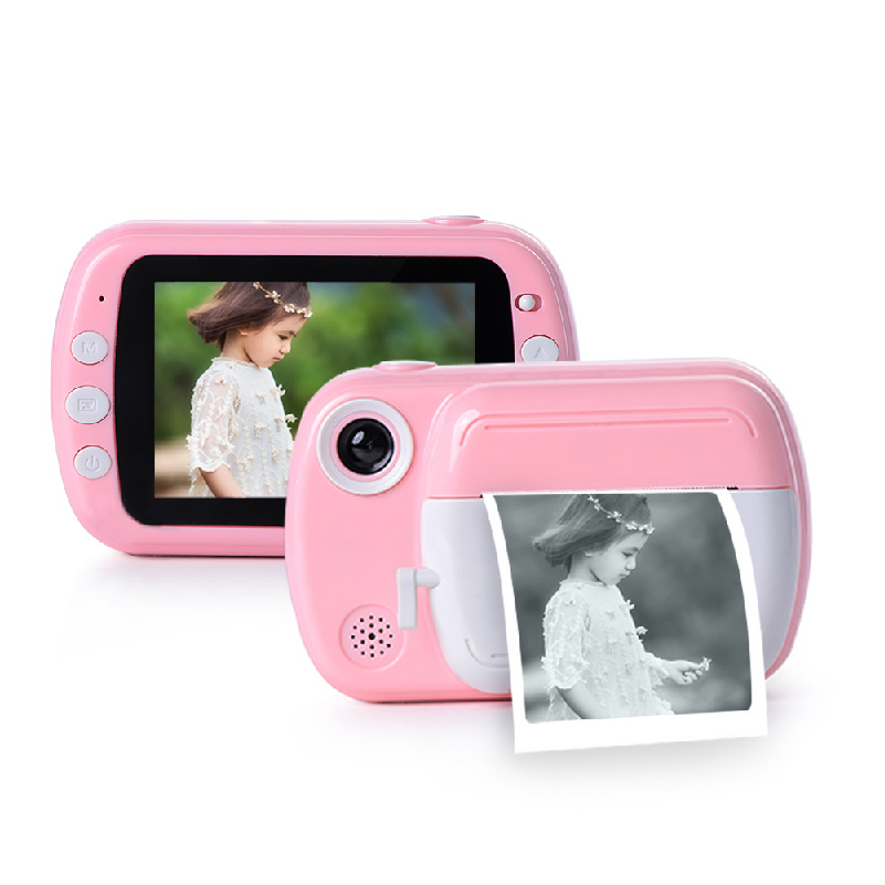 Digital Kids Toy Camera With Effects And Cartoon Stickers
