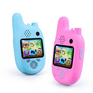 Walkie Talkie With Front & Rear Camera And MP3