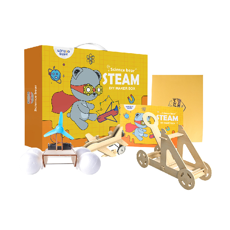 STEM Wooden Craft Educational Toy Play At Home