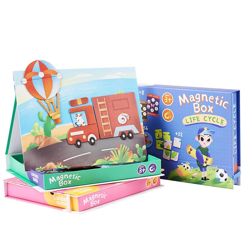 L'allenamento di logica magnetica ispira la creatività e lo sviluppo del cervello puzzle giocattolo