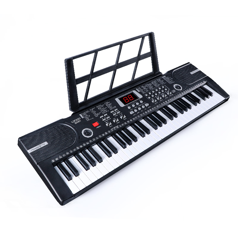 61 Keys Multi-functional Electronic Keyboard For Beginners And Kids With Mircophone And Headphone