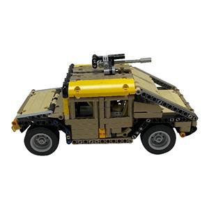 Building Block Remote Control Car With USB Chargeable