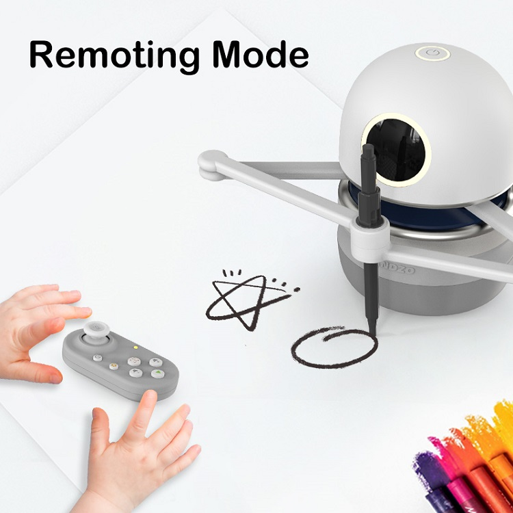 interactive robot toy