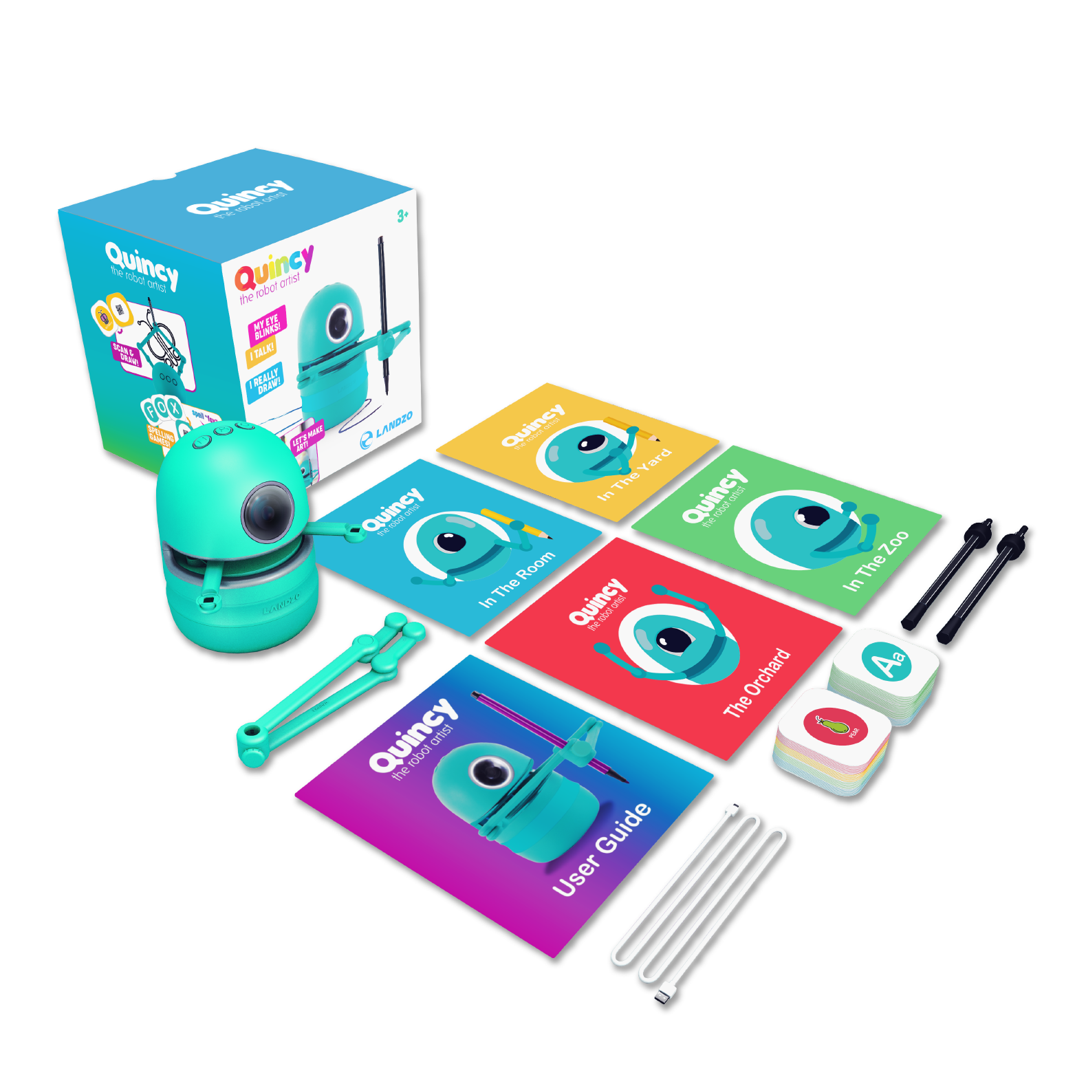 robot arm drawing toy