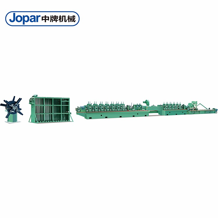 Square Pipe Roll Forming Machine Automatic ERW Steel Pipe Mill Line Machine
