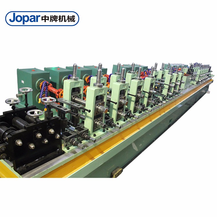 Intelligent Industrial Tube Mill Galvanized Steel Pipe Making Machine High Frequency Pipe Mill