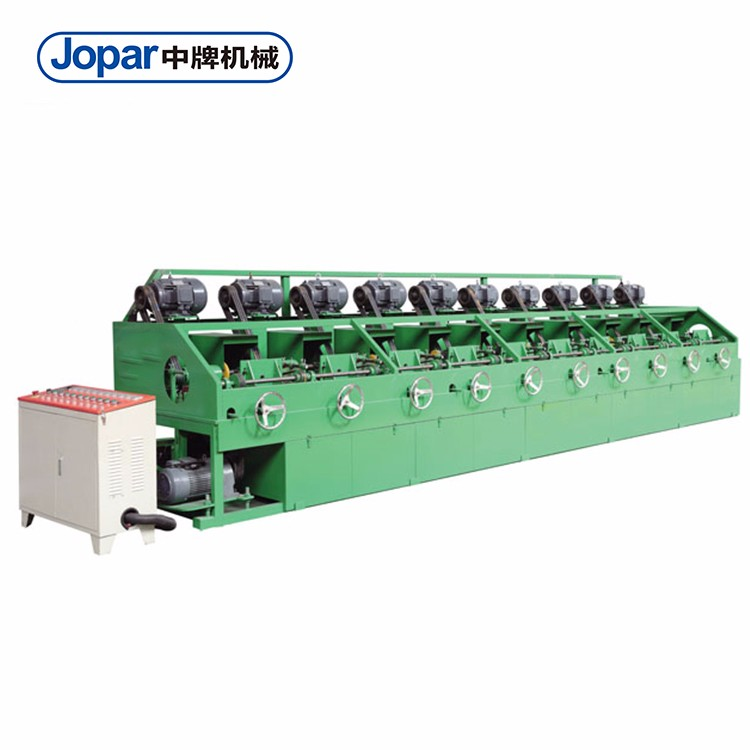 Jopar 10 Heads Industrial Round Tube Polishing Machine