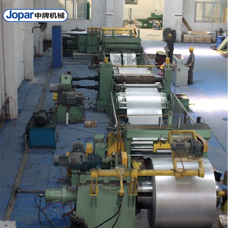 Customized Automatic Slitting Machine For Stainless Steel Coils Slitting