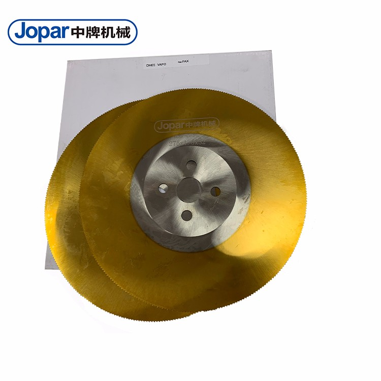 Metal Circular HSS Saw Blades For Cutting Stainless Steel Pipe