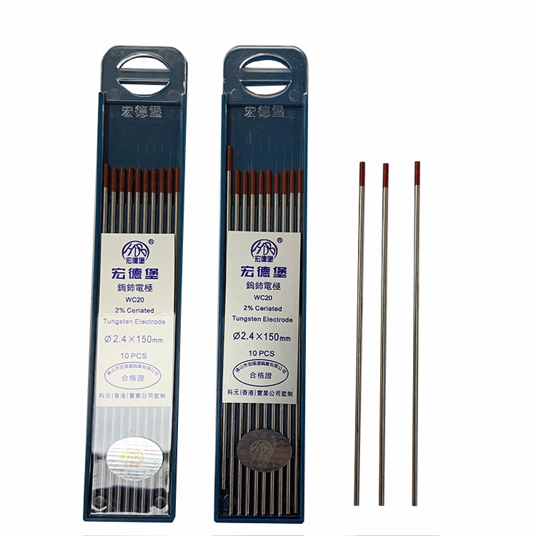 High Quality Welding Electrode 2.4*150mm WC20 TIG Welding Tungsten Electrodes Needle