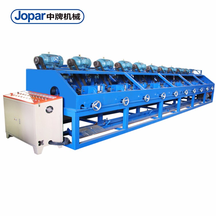 Full-automatic Stainless Steel Ss Square And Rectangle Pipe Mirror Polishing Machine
