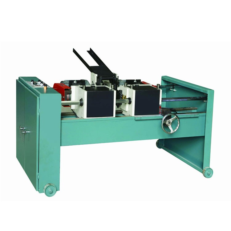 Electric And Pneumatic Control Round Pipe Double Head Chamfering Tube Edge Deburring Machine