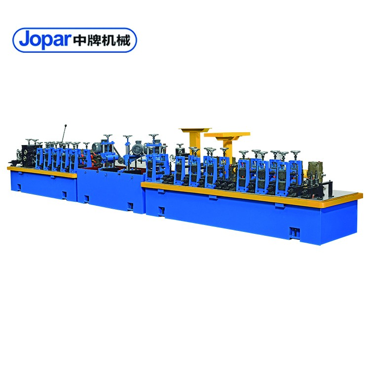 Stainless Steel Round Pipe Making Machine For Stair Handrail