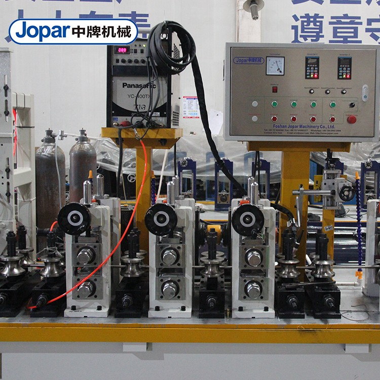 Industrial Exhaust Pipe Tube Making Machine