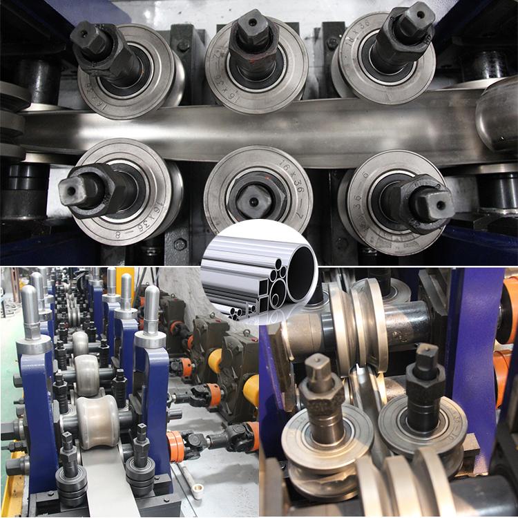ss round tube making machine