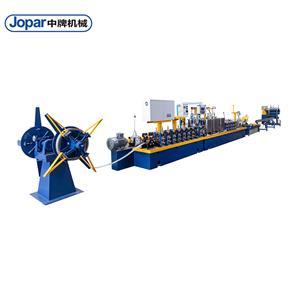 Automobile Exhaust Pipe Titanium Grade 2 Pipe Mill Industrial Tube Making Machine