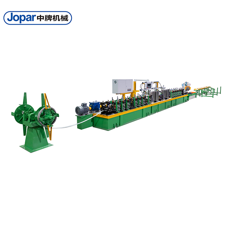 Welded Titanium Tube Manufacture Machine Pipe Line
