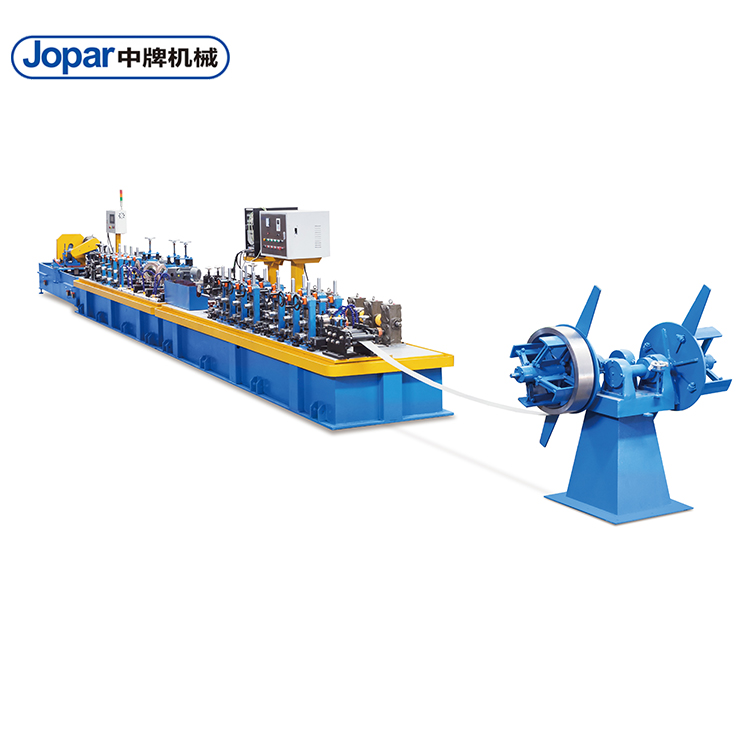 Cupronickel Alloy Thick Welded Pipe Production Line Used For Shipping