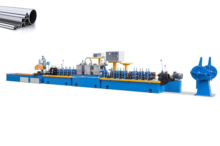 ss pipe manufacturing machine