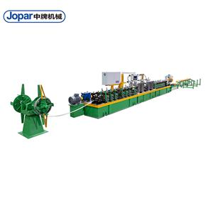Copper Alloy Round Welded Pipe Making Machine Steel Tube Mill