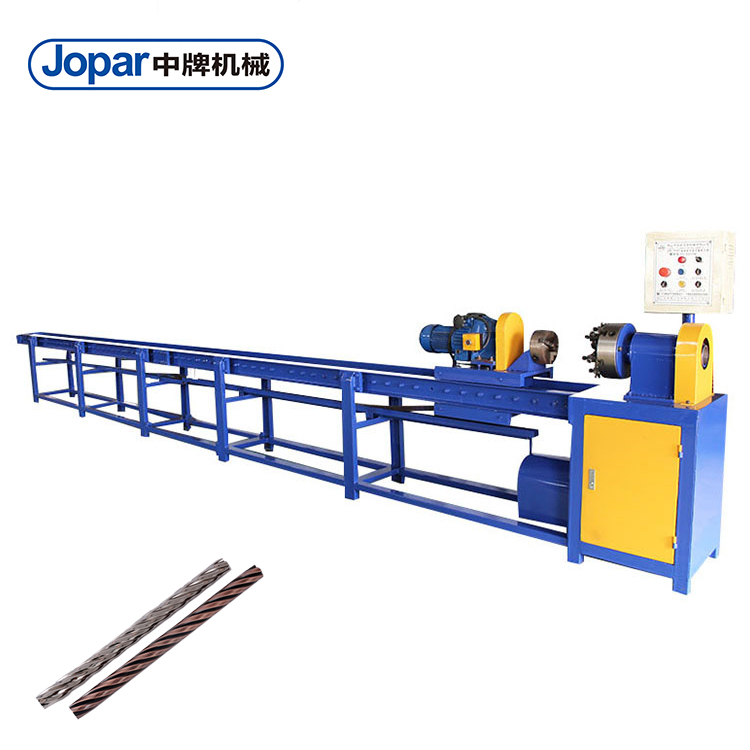 New Automatic Stainless Steel Square Pipe Twisting Machine