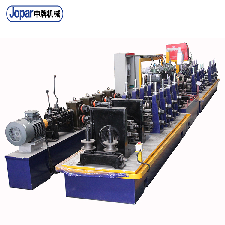 Special Aluminum Alloy Tube Making Machine Metal Pipe Mill