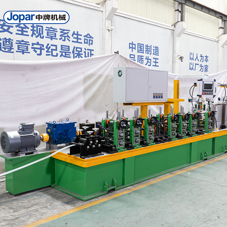 Stainless Steel Industrial Round Pipe Making Machine Production Line
