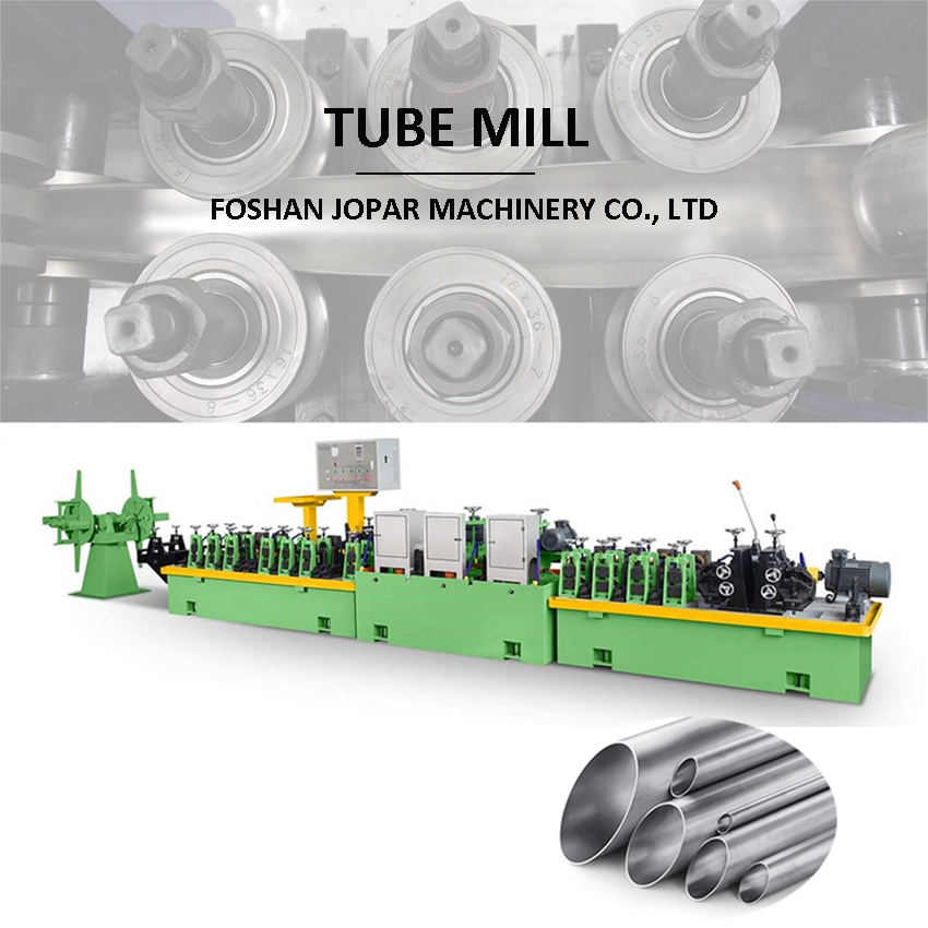 stainless steel pipe manufacturing machine