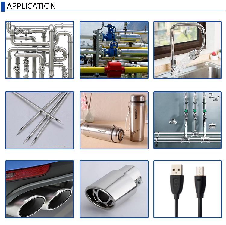 Titanium Metal Pipe Machine