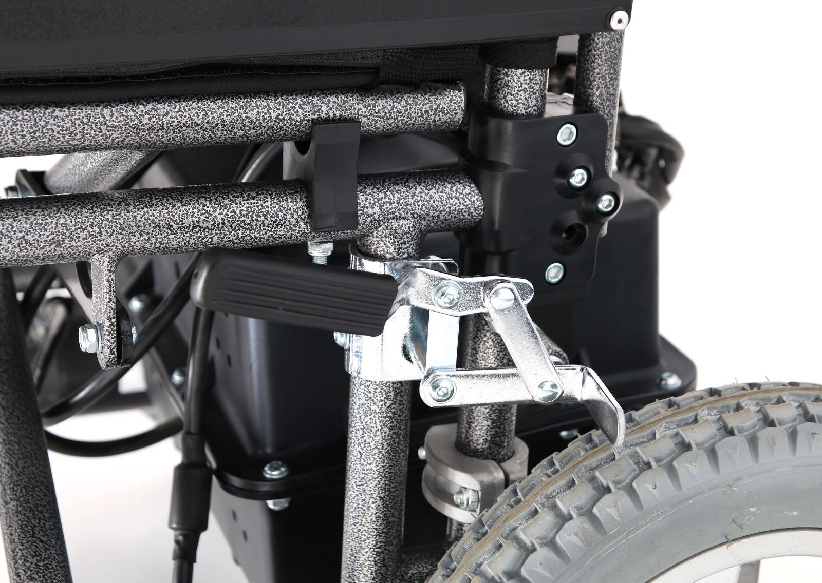 steel electric wheelchair