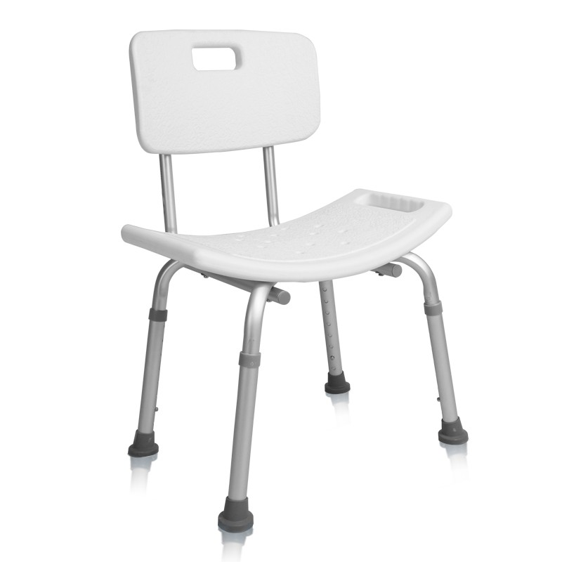 Home Foldable Height Adjustable Shower Chair