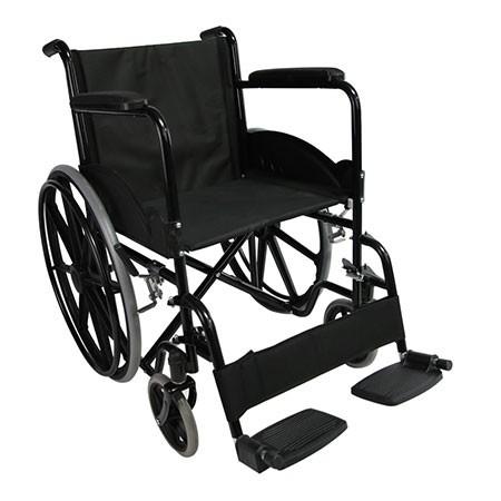 Basic Portable Steel Self Propel Wheelchair Manufacturers, Basic Portable Steel Self Propel Wheelchair Factory, Supply Basic Portable Steel Self Propel Wheelchair